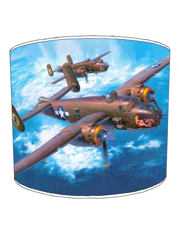 b 25j mitchell bomber lampshade