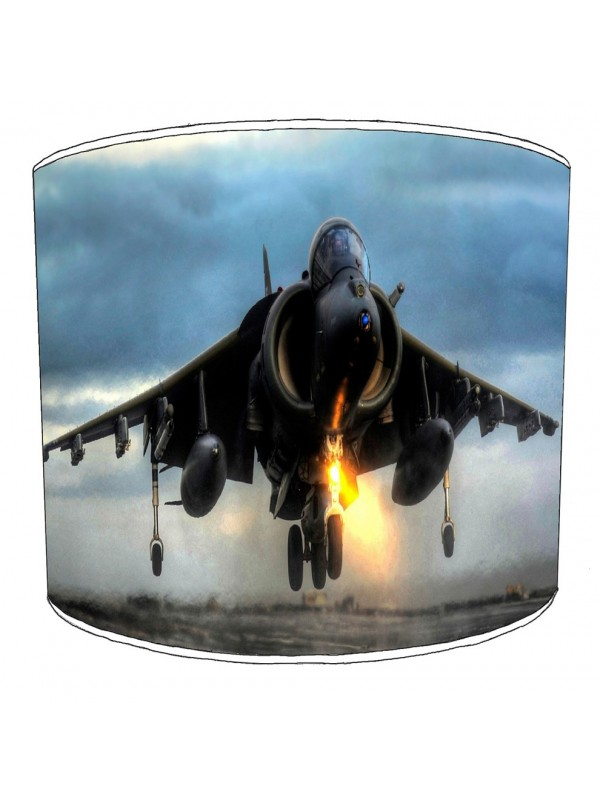 harrier jump jet lampshade