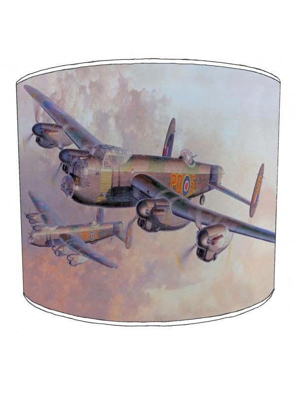 lancaster bomber lampshade