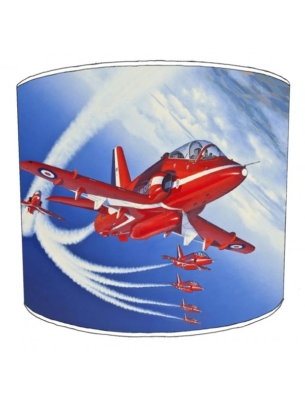 red arrow lampshade