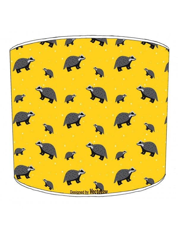 badgers lampshade 12
