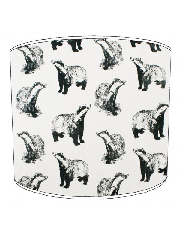 badgers lampshade 15
