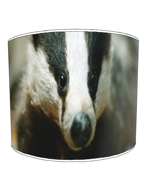 badgers lampshade 16