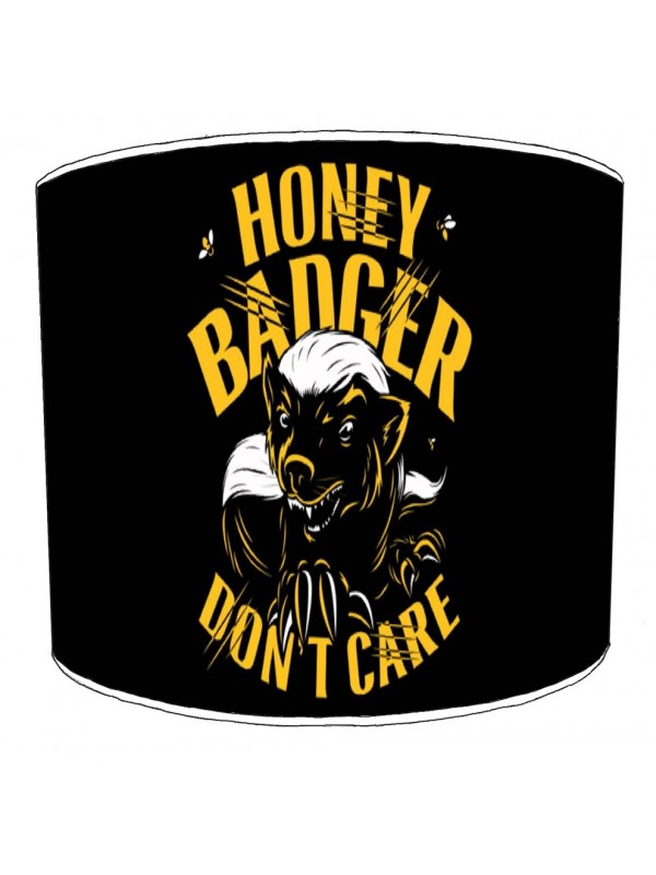 honey badger dont care lampshade