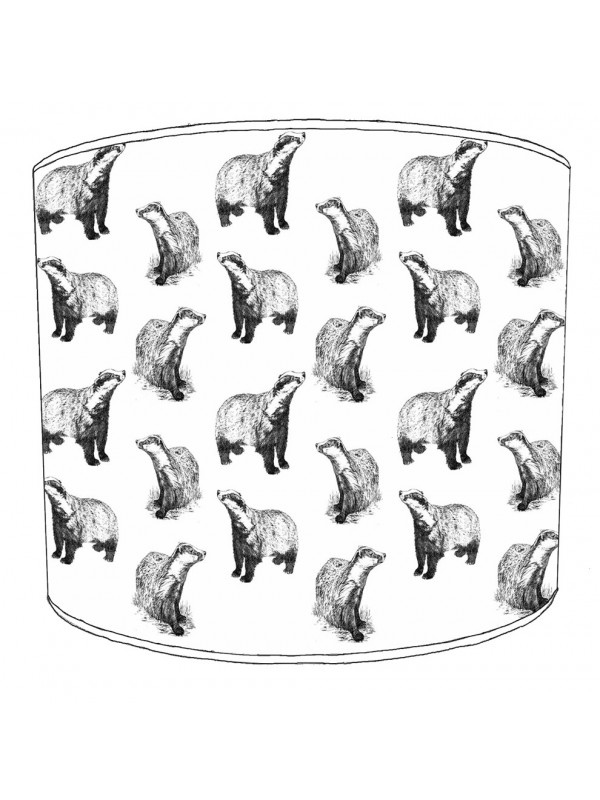badgers lampshade 8