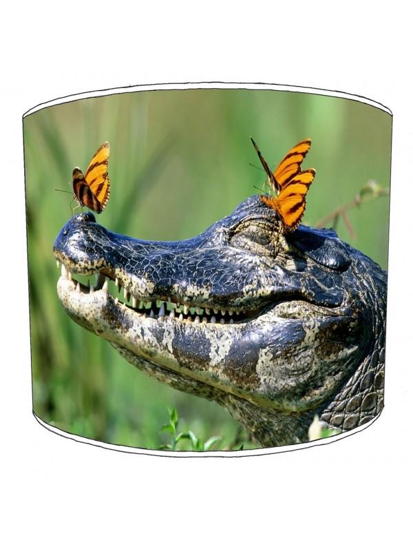 crocodile aligators lampshade 10