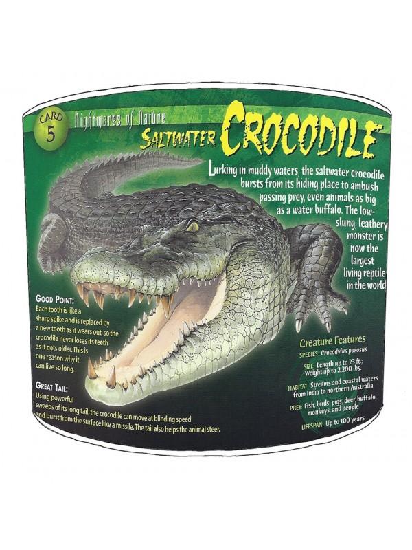 crocodile aligators lampshade 17