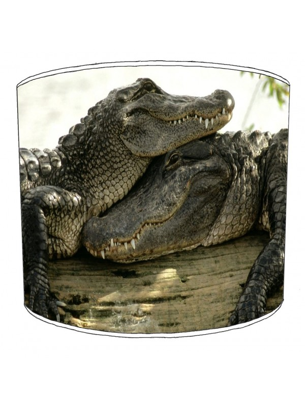 crocodile aligators lampshade 18