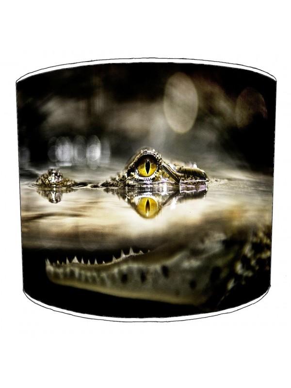 crocodile aligators lampshade 19