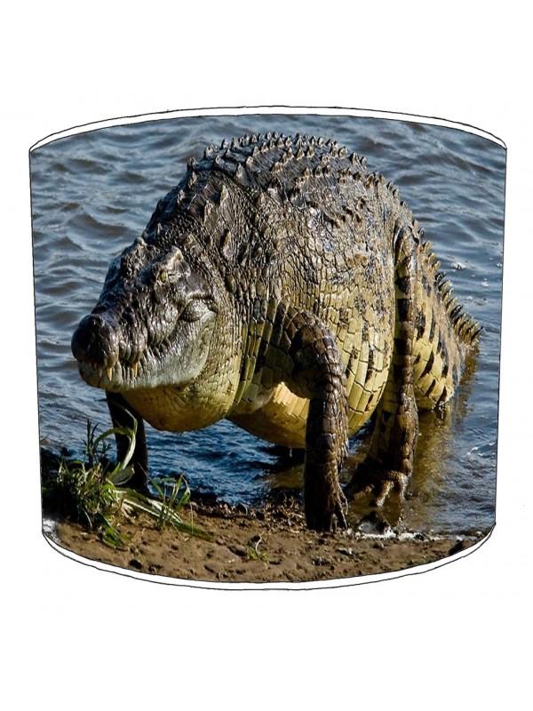 crocodile aligators lampshade 4