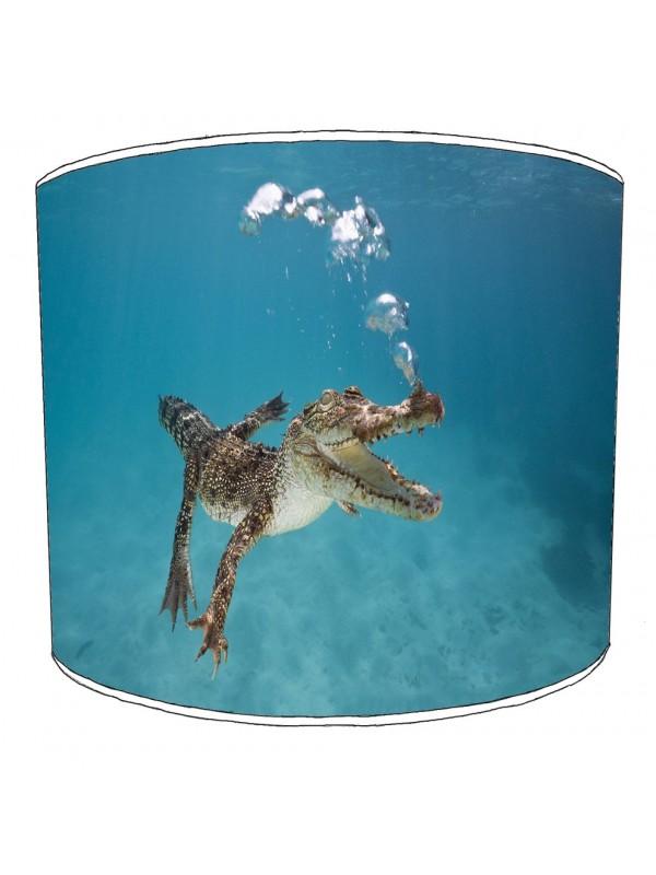 crocodile aligators lampshade 5