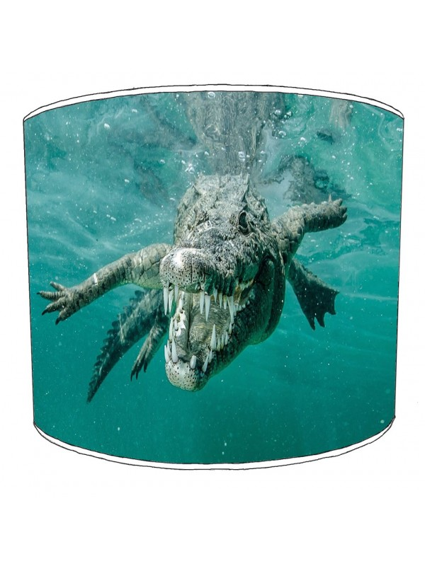 crocodile aligators lampshade 7