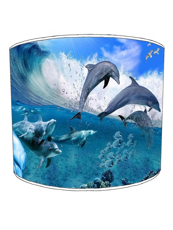 dolphin lampshade 1