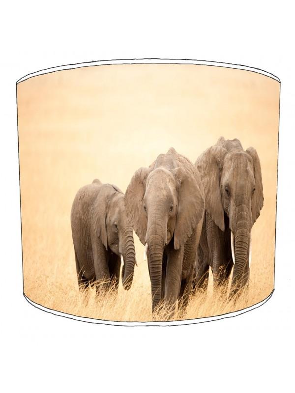 elephant family lampshade