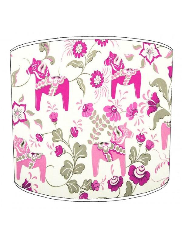 pink horses lampshade