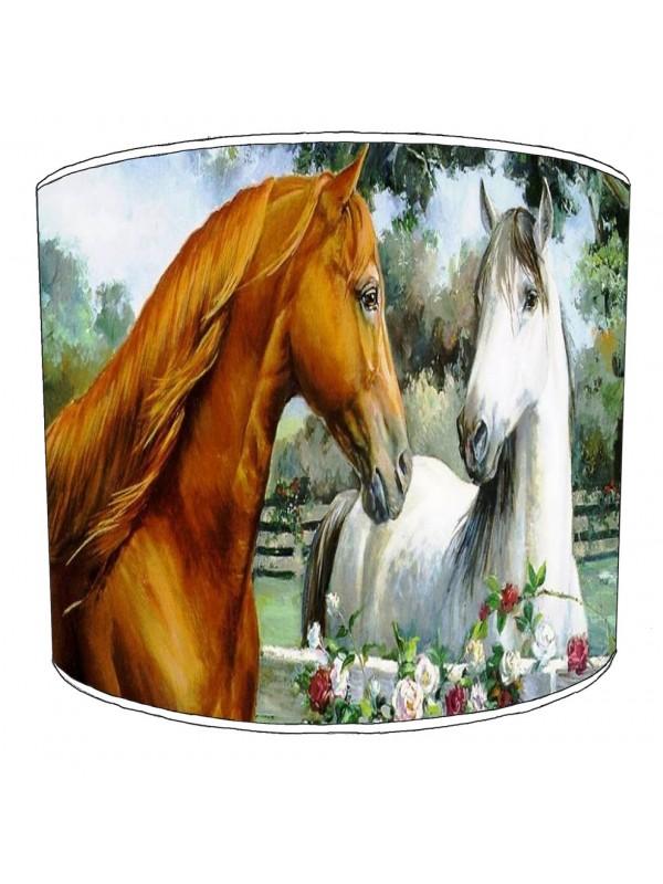 love horses lampshade