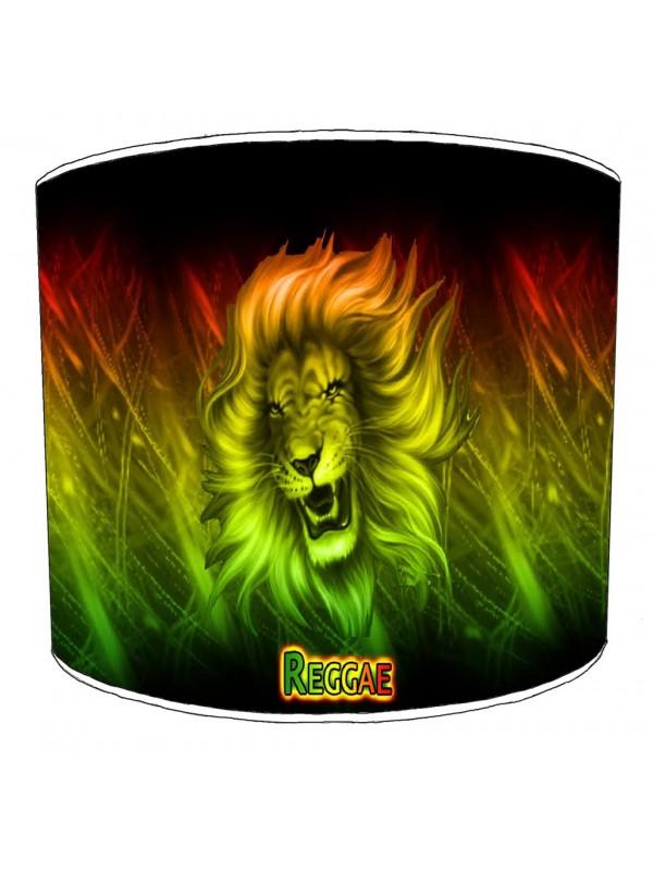 reggae lion lampshade