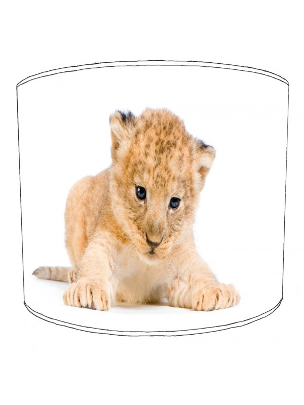 lion cub lampshade