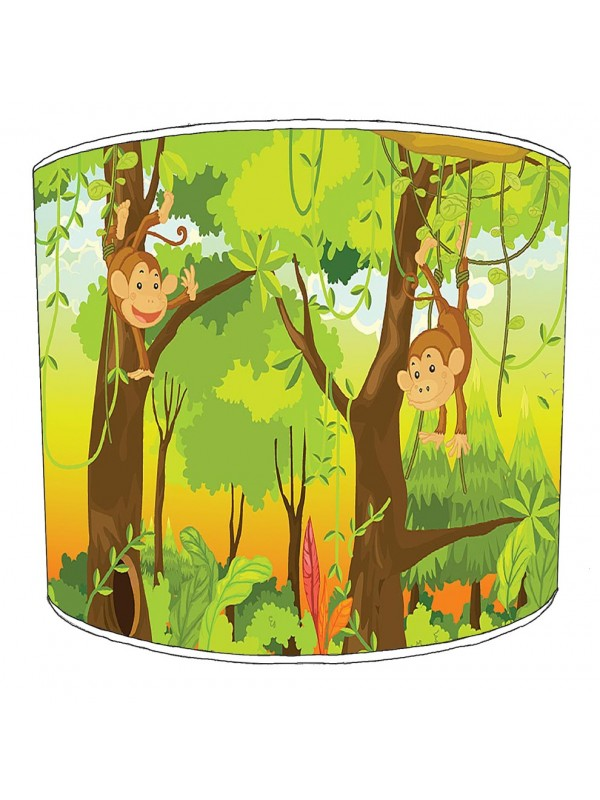 cheeky monkey lampshade