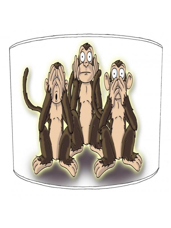 evil monkey lampshade