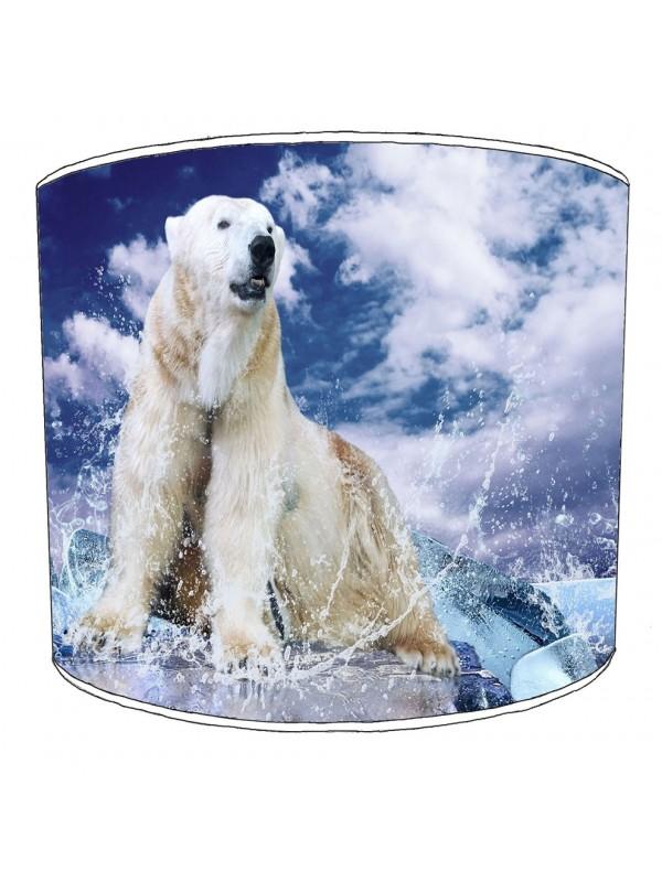 polar bear lampshade 1