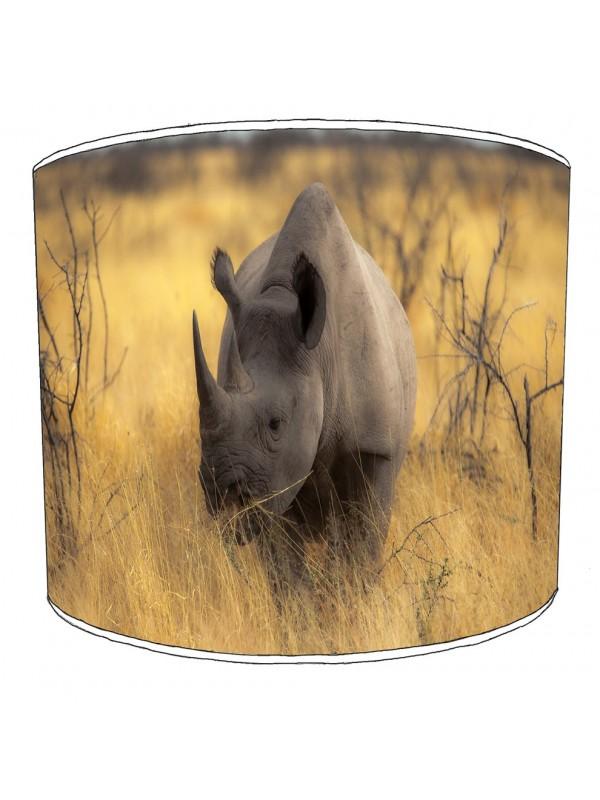 rhino childrens lampshade 1