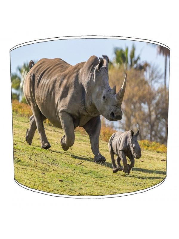 rhino childrens lampshade 10