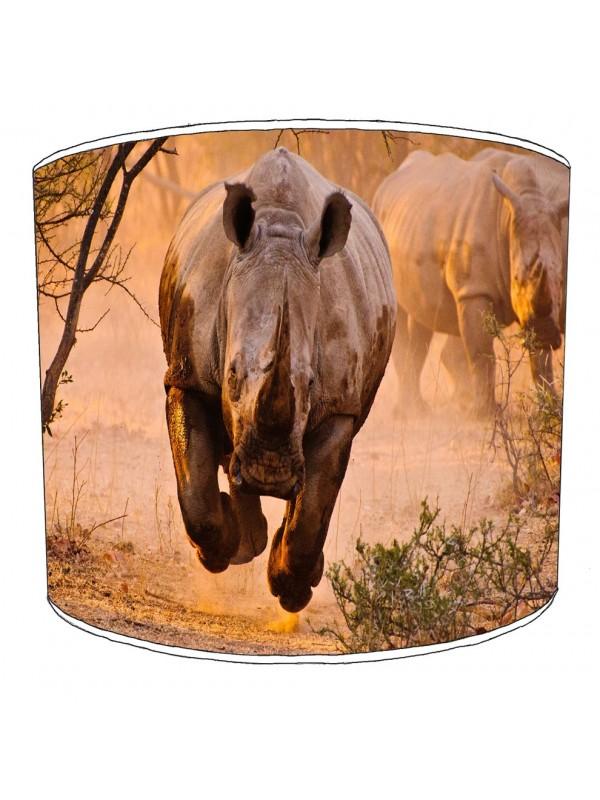 rhino childrens lampshade 2