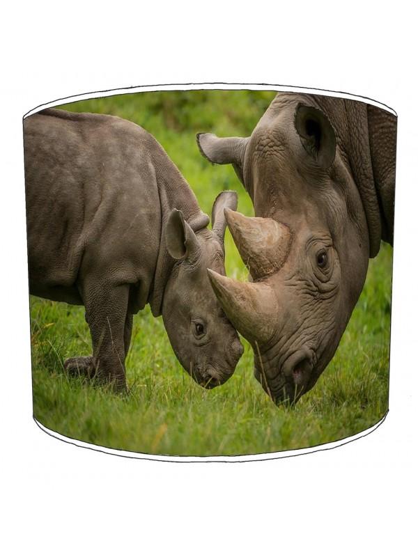 rhino childrens lampshade 3