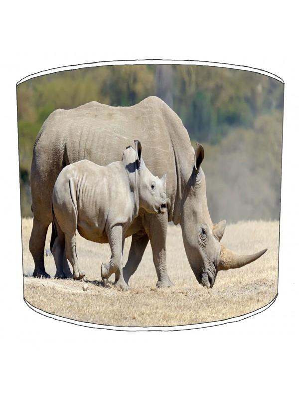 rhino childrens lampshade 7