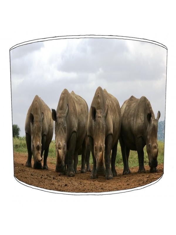 rhino childrens lampshade 9
