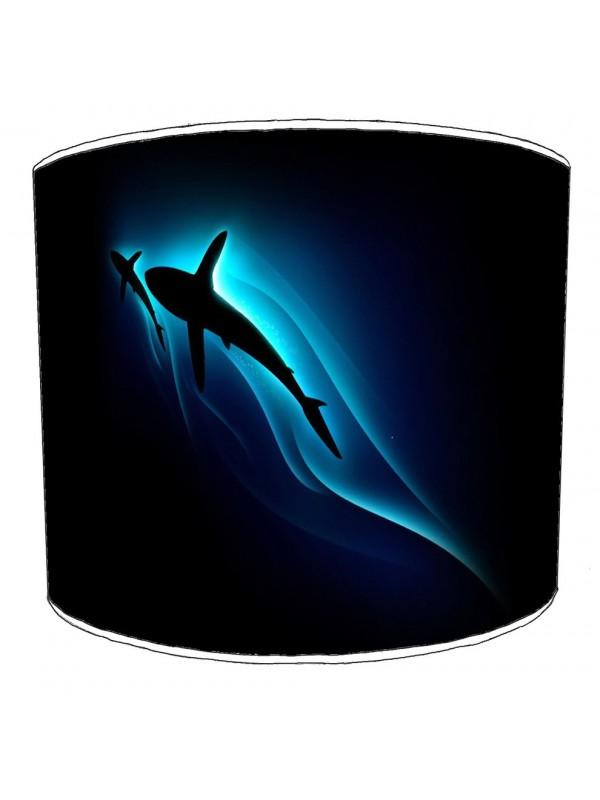 sharks lampshade 14