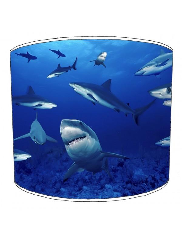 sharks lampshade 19