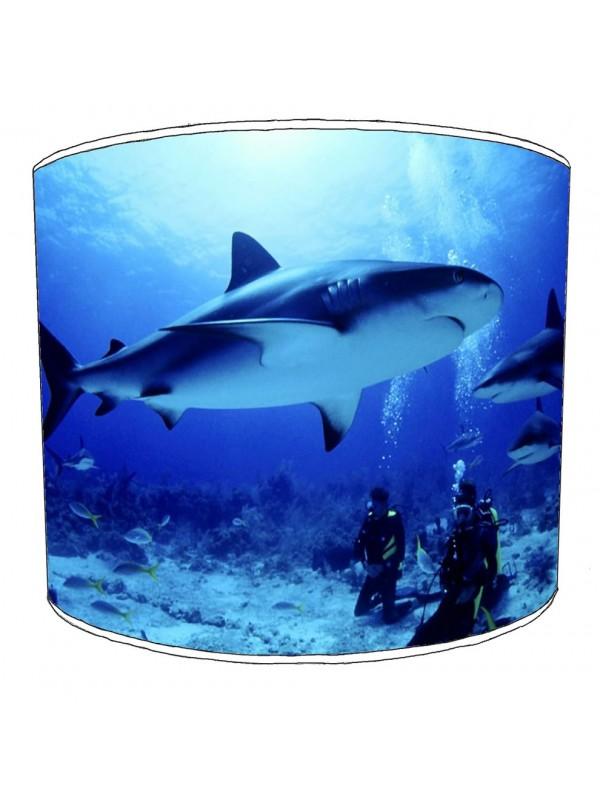 sharks lampshade 9