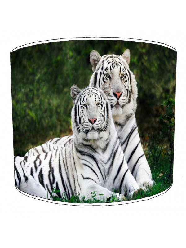 white tigers lampshade 8
