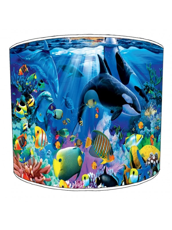 killer whale reef lampshade