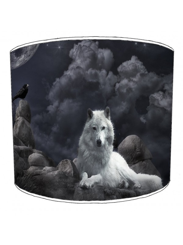 wolf lampshade 14