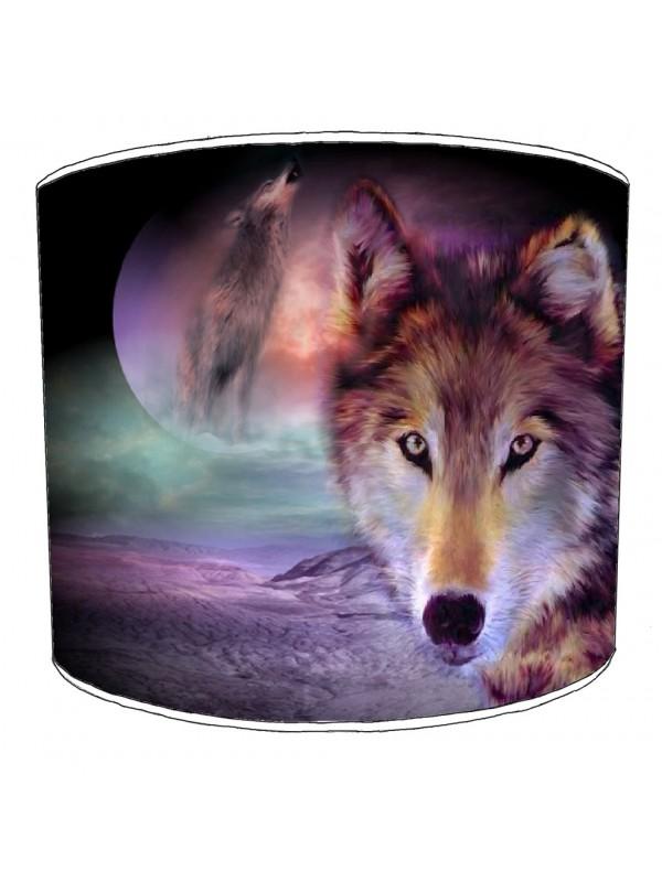 wolf lampshade 20