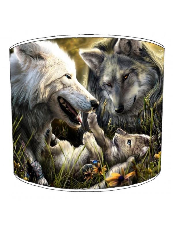 wolf lampshade 6