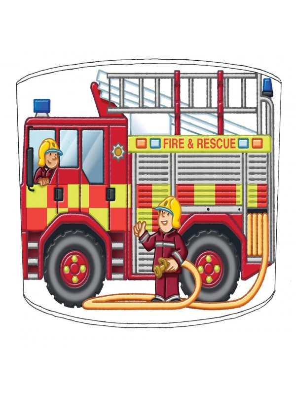 fire engine lampshade 2