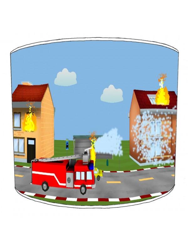 fire engine lampshade 7
