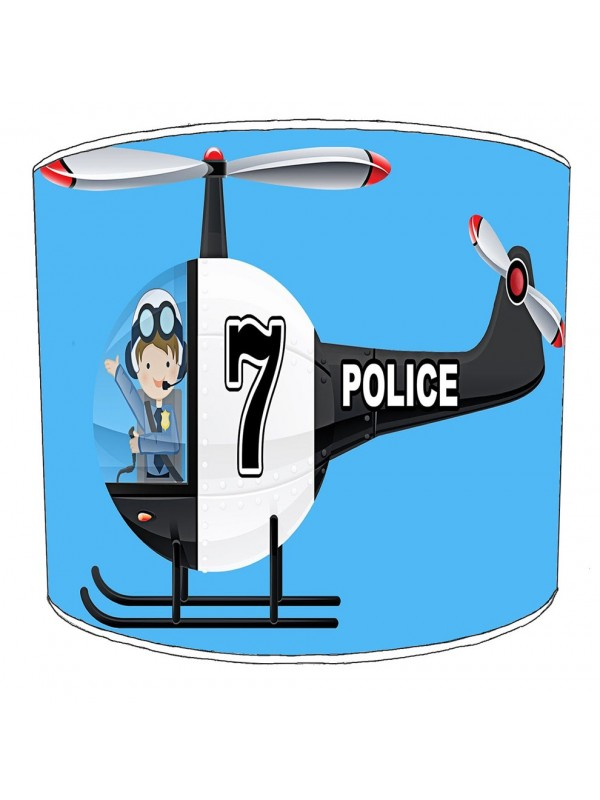 police lampshade 2
