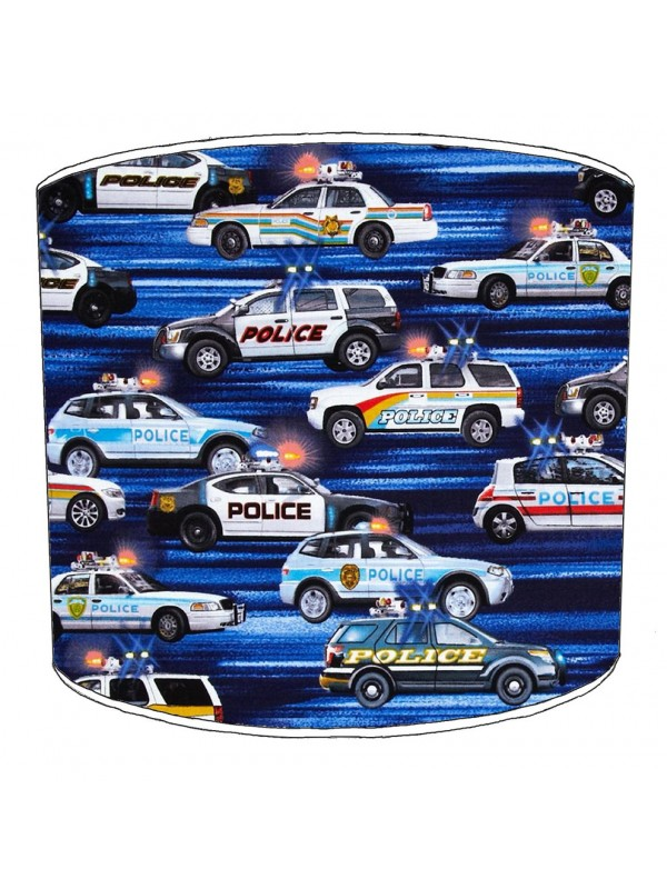 police lampshade 4