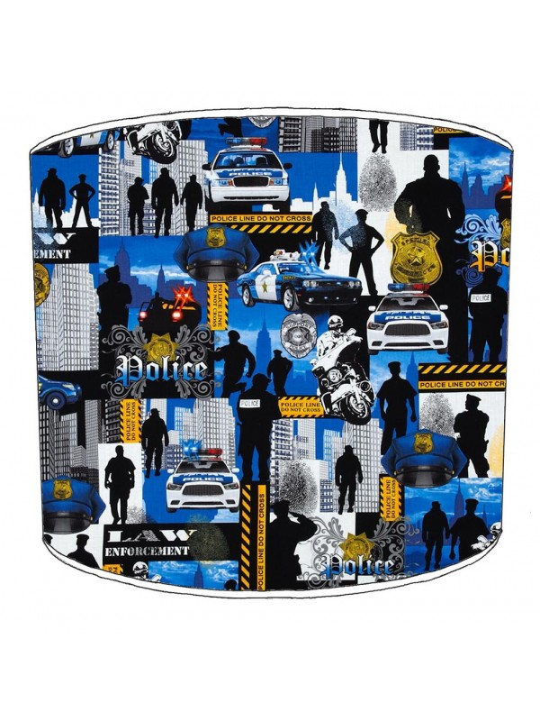 police lampshade 5