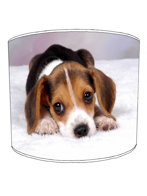 beagle dog print lampshade 3