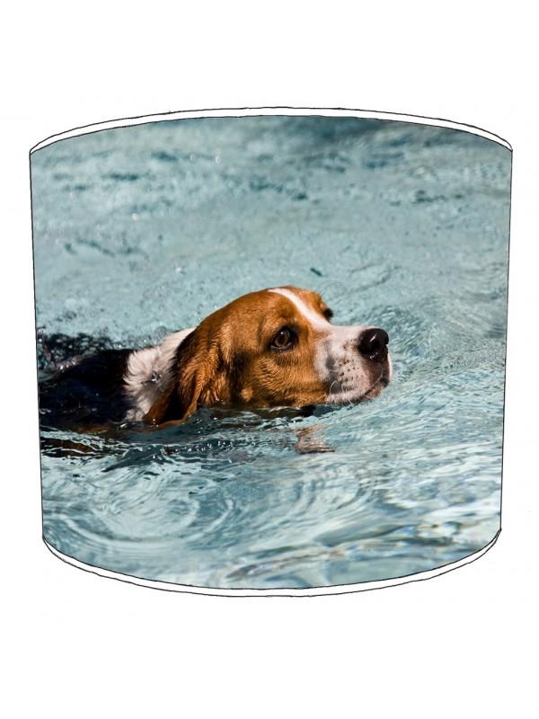 beagle dog print lampshade 5