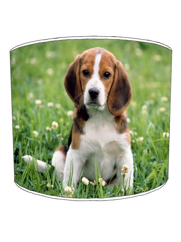 beagle dog print lampshade 6