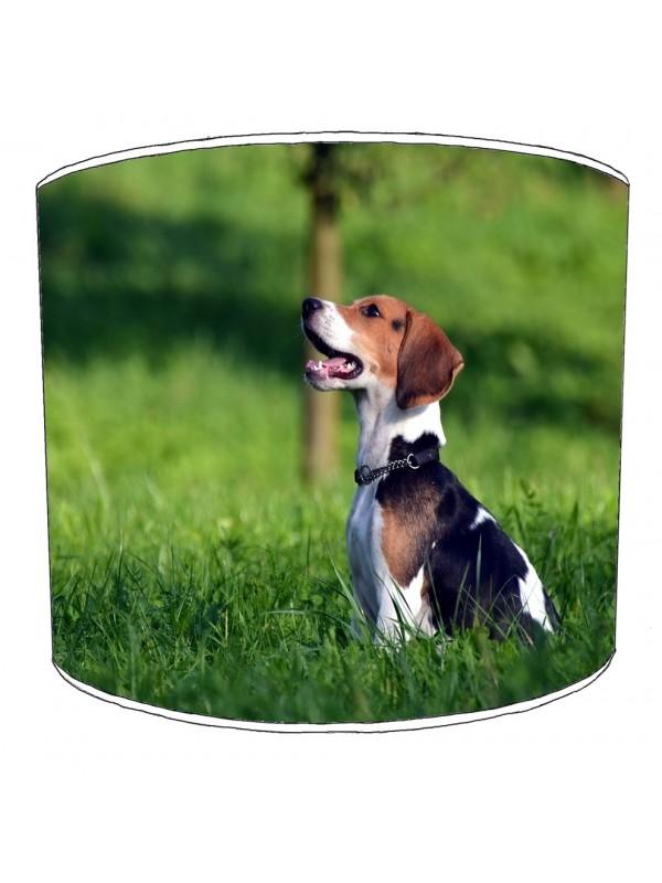 beagle dog print lampshade 7
