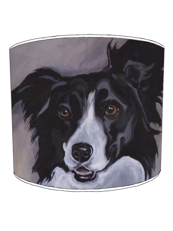 border collie print lampshade 11