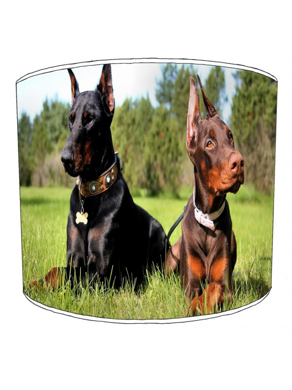 doberman lampshade 1